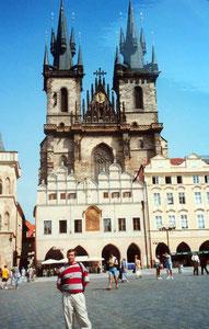 Catedral de Tyn -Praga (Checoslovaquia)