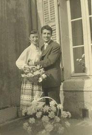 Fiançailles en 1956