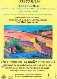 Sist'Arts les Petits Maîtres Provençaux