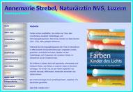 Annemarie Strebel, Naturärztin und Buchautorin: Farben - Kinder des Lichts