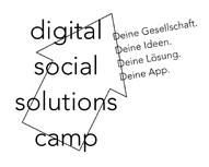Digital Social Solutions Camp Logo Demokratie Schule Politik Projekte Jugendbeteiligung Politische Bildung