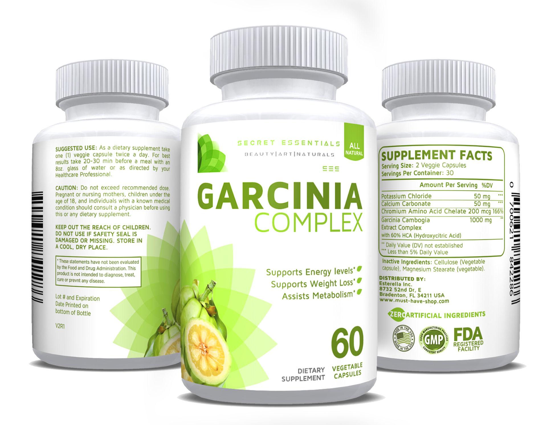 Zutaten Garcinia gcb