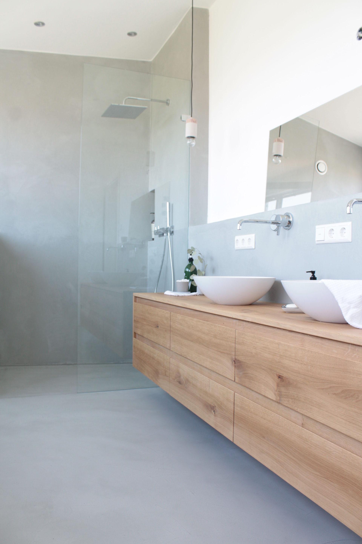 Fugenloses Badezimmer - Koenigskram Webseite!