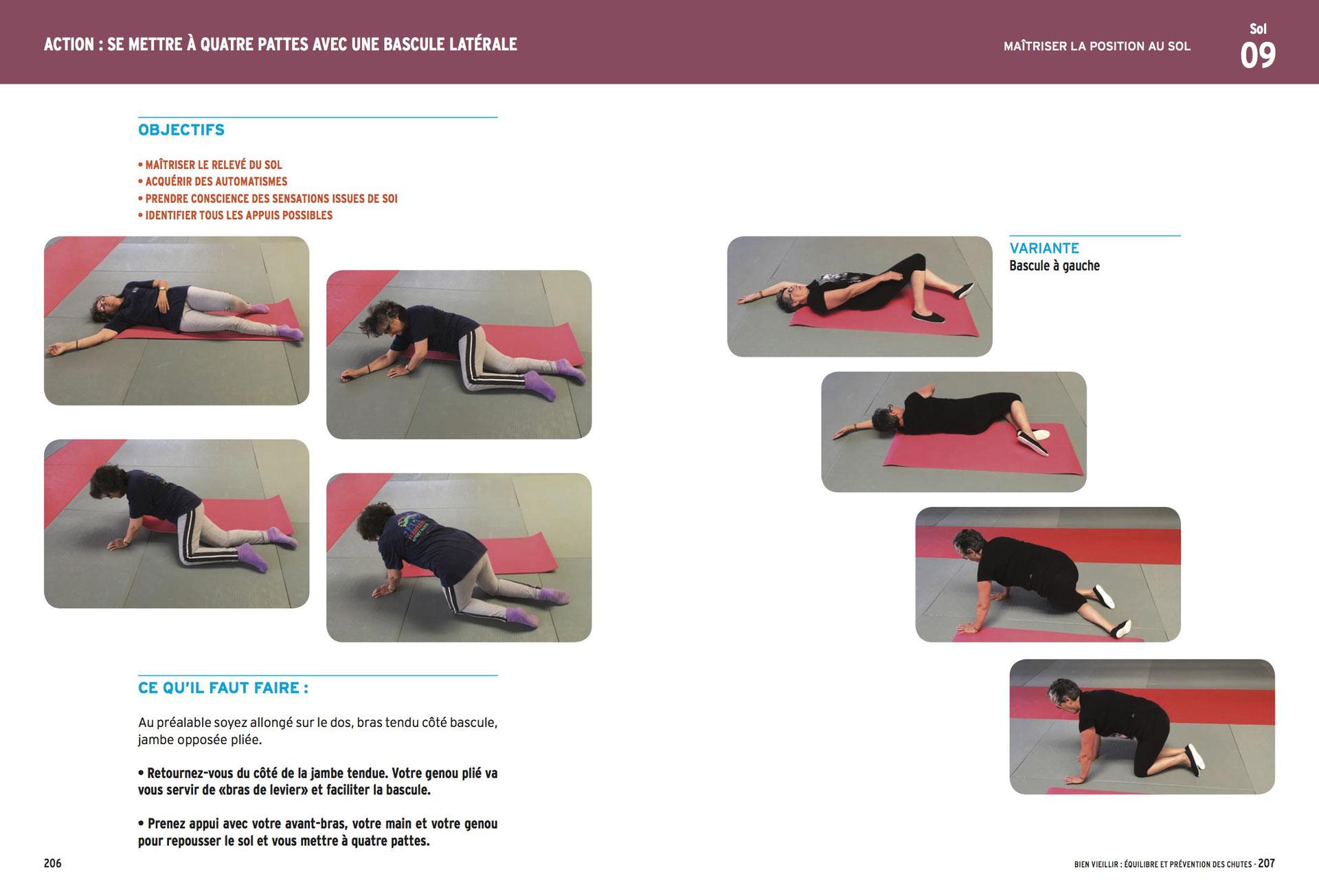 Gymnastique A Faire Chez Soi prévention des chutes chez la personne âgée - gym douce