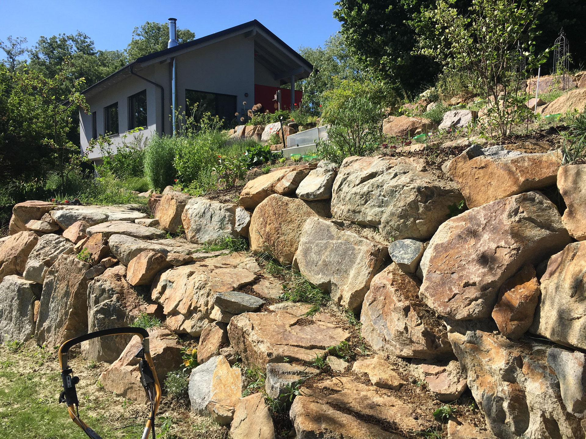Stutz Mauern Trockenmauern Steinschlichtung Steinmauern