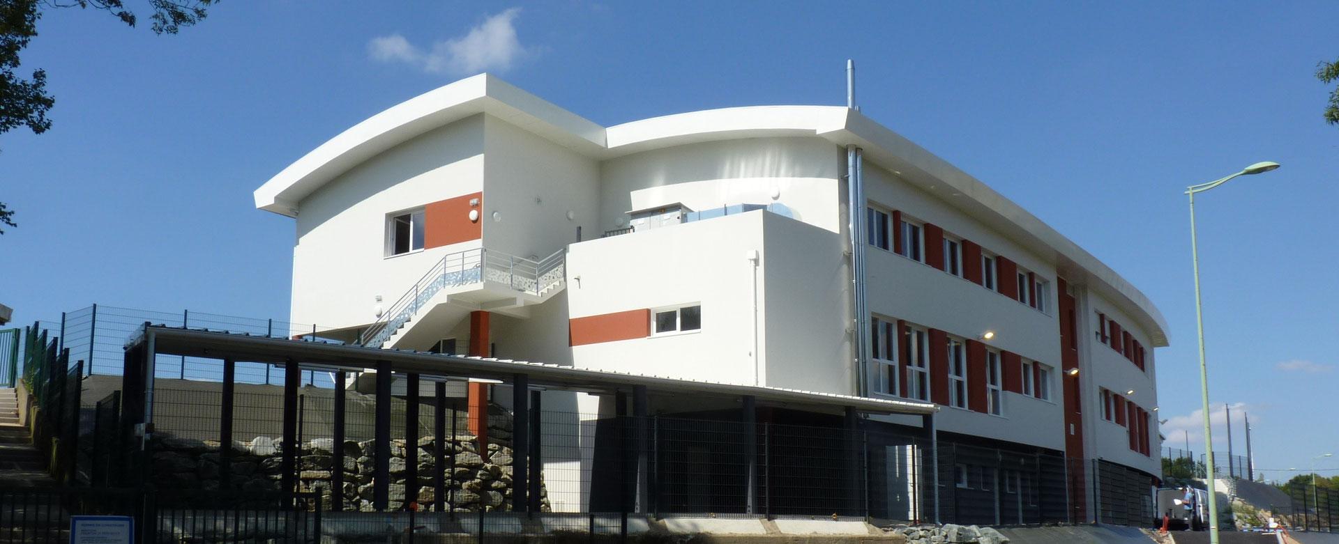 extension du coll ge de savenay architecte 44 nantes constructions et r habilitations. Black Bedroom Furniture Sets. Home Design Ideas
