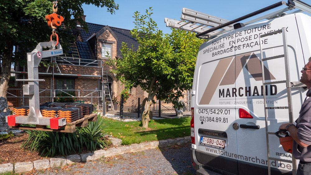 Entreprise toiture à Braine l'Alleud - Toiture Marchand