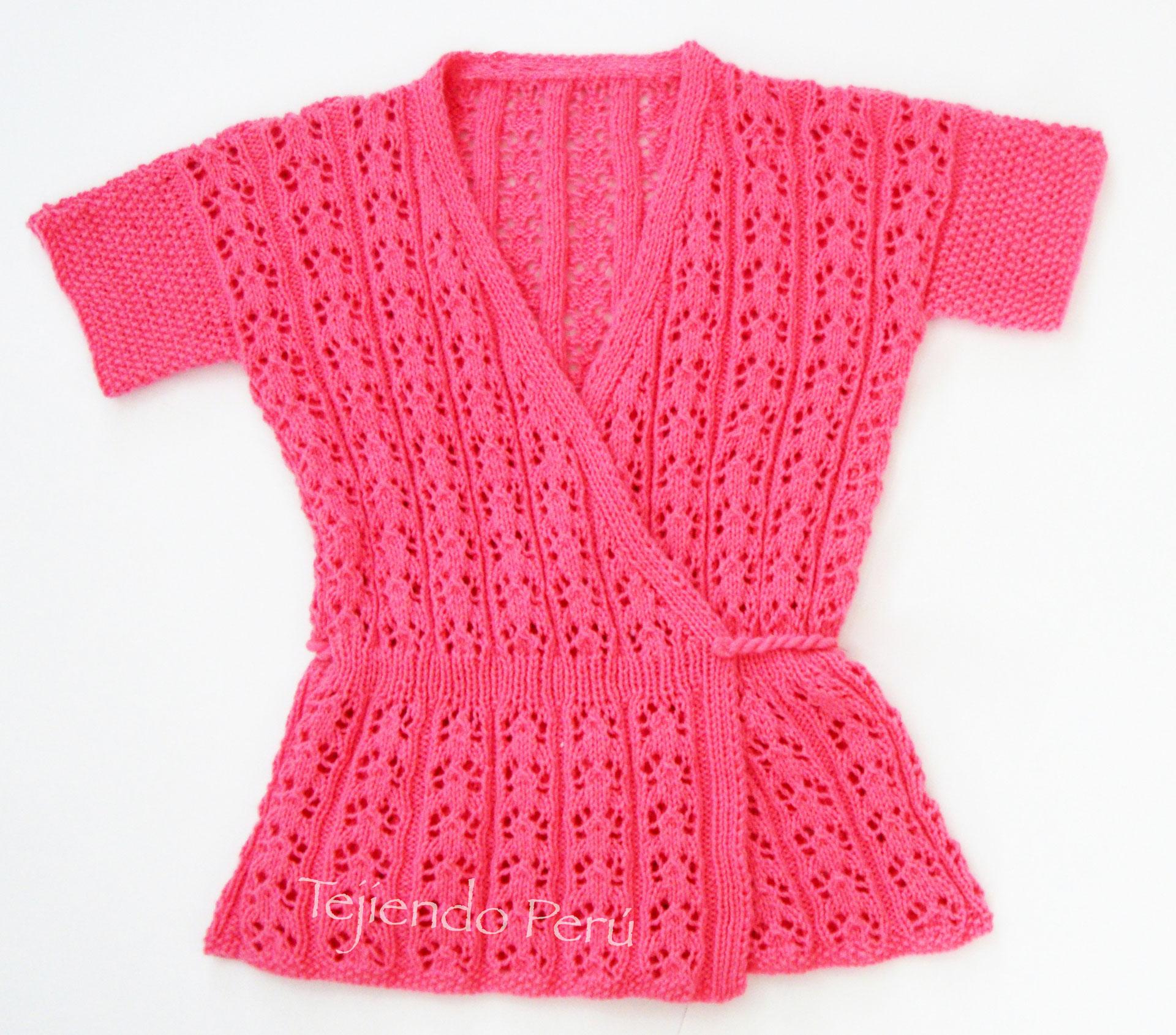 4aafd5e01 Blusa kimono - Tejiendo Perú