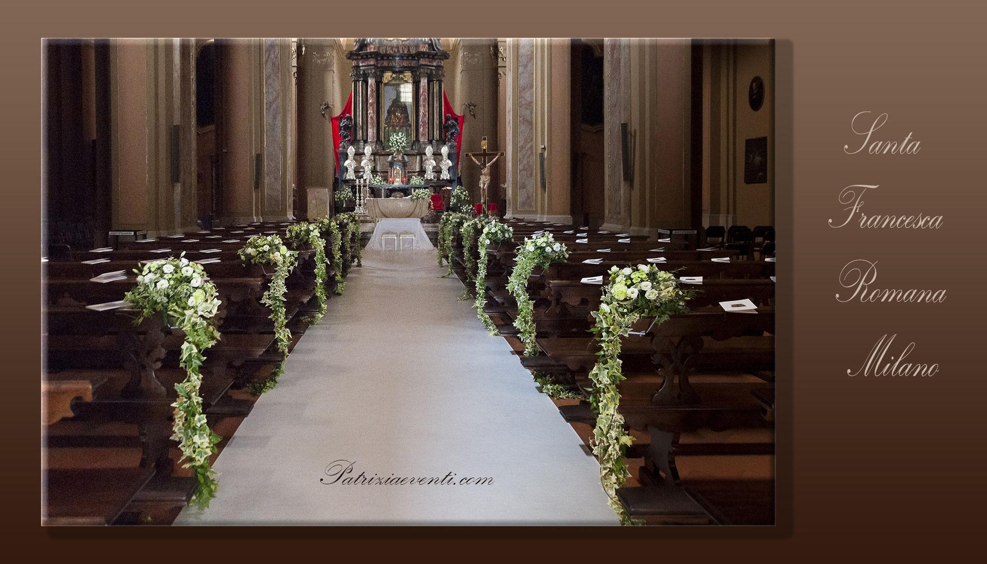 Fiori Chiesa Matrimonio.Allestimenti E Decorazioni Floreali Per La Chiesa Fiori