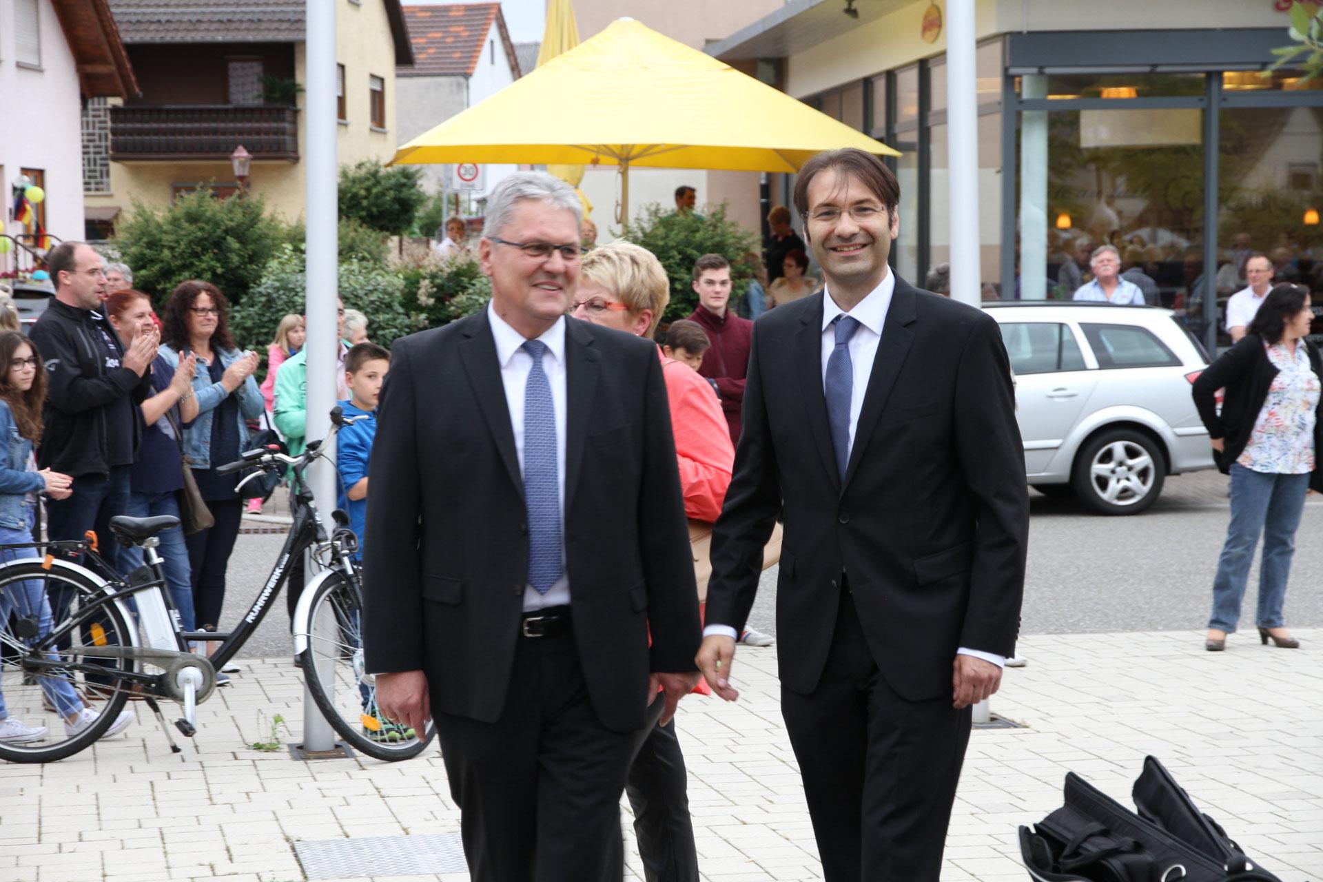 Bürgermeisterwahl Kronau