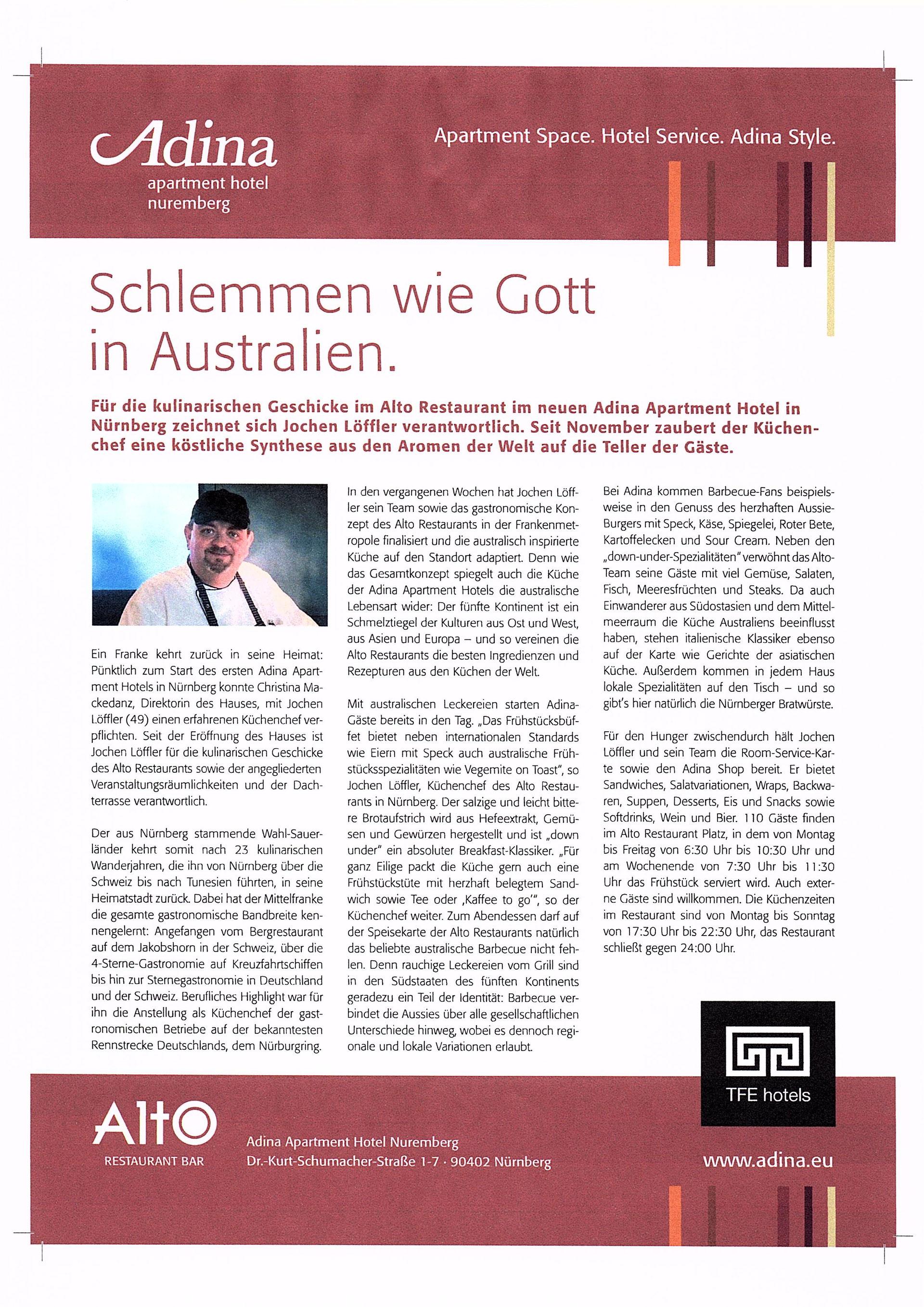 Jochen Löffler neuer Küchenchef der MS Sergei Kirov - Suppenschmieds ...
