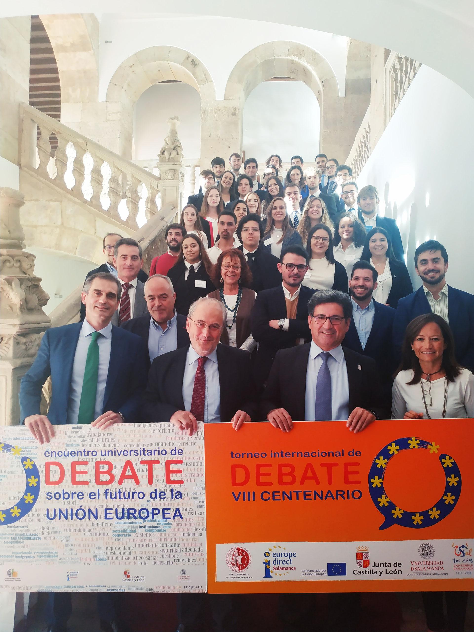 Debate Internacional 2018 - Página web de Europe Direct Salamanca