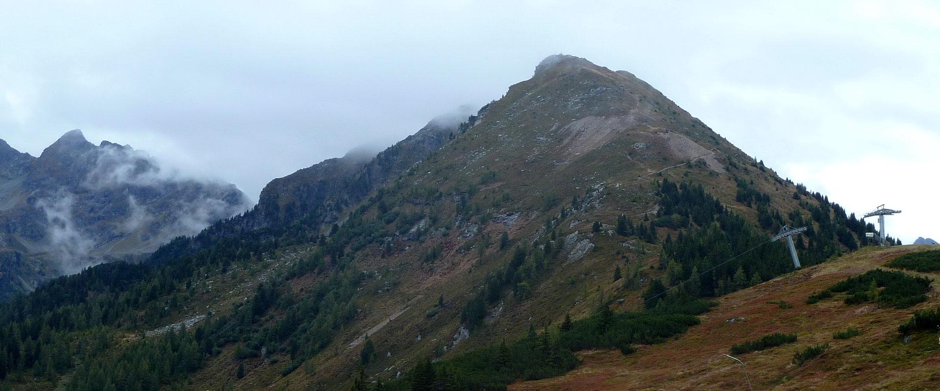 Viel Gipfelblick für wenig Mühe Wizi´s Bergwelt Das