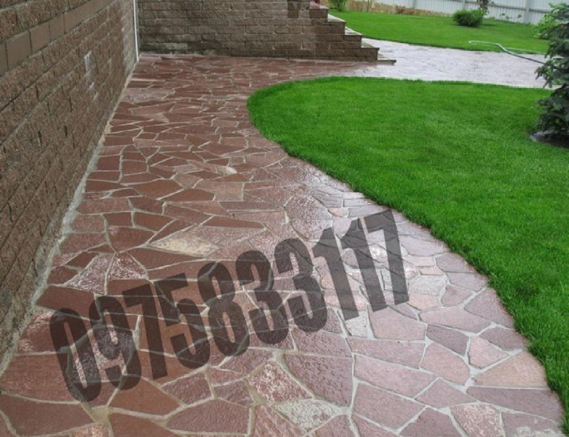 плитняк бетон