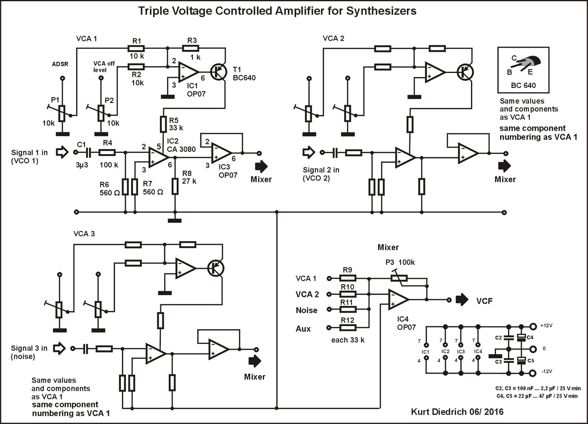 Triple VCA - Tipps und Tricks für Hobby-Elektroniker und ...