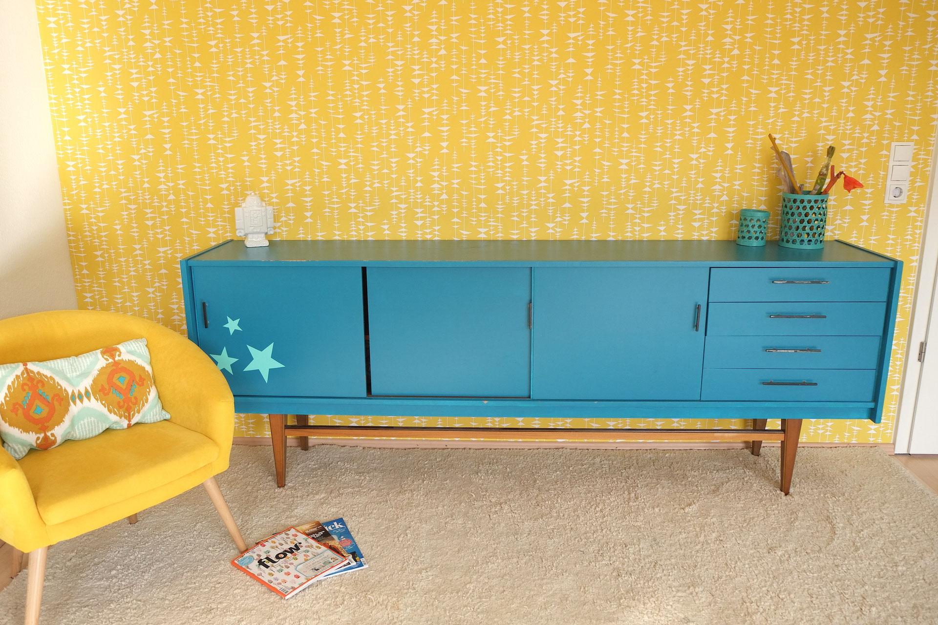 70 39 er jahre sideboard lackieren lybstes. Black Bedroom Furniture Sets. Home Design Ideas