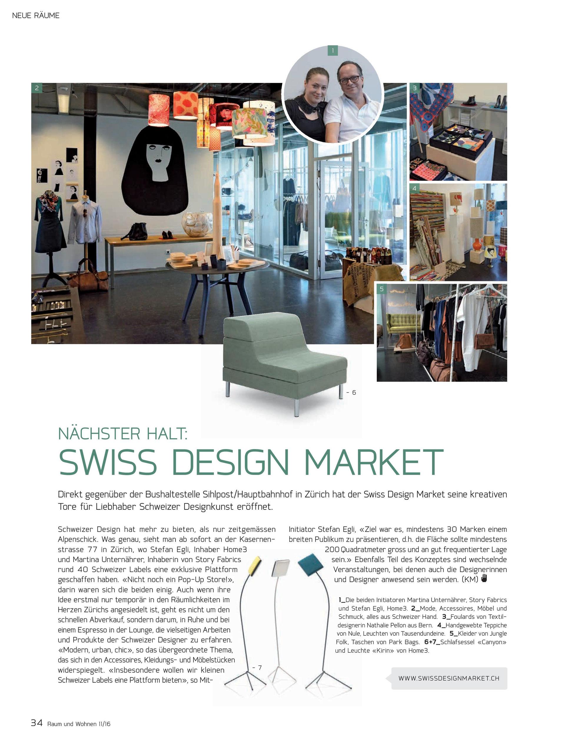 Home3 Swiss Design Market Home3 Schweizer Design