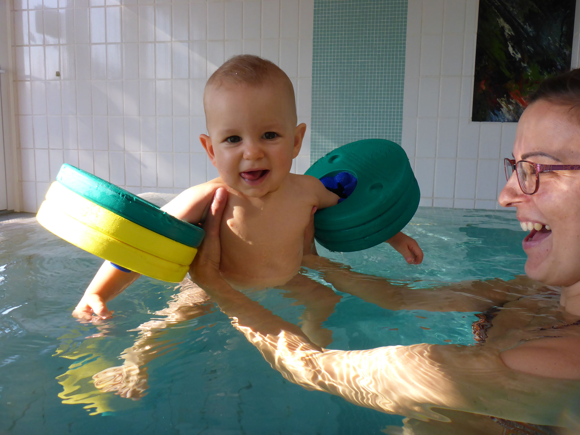 Schwimmpampers