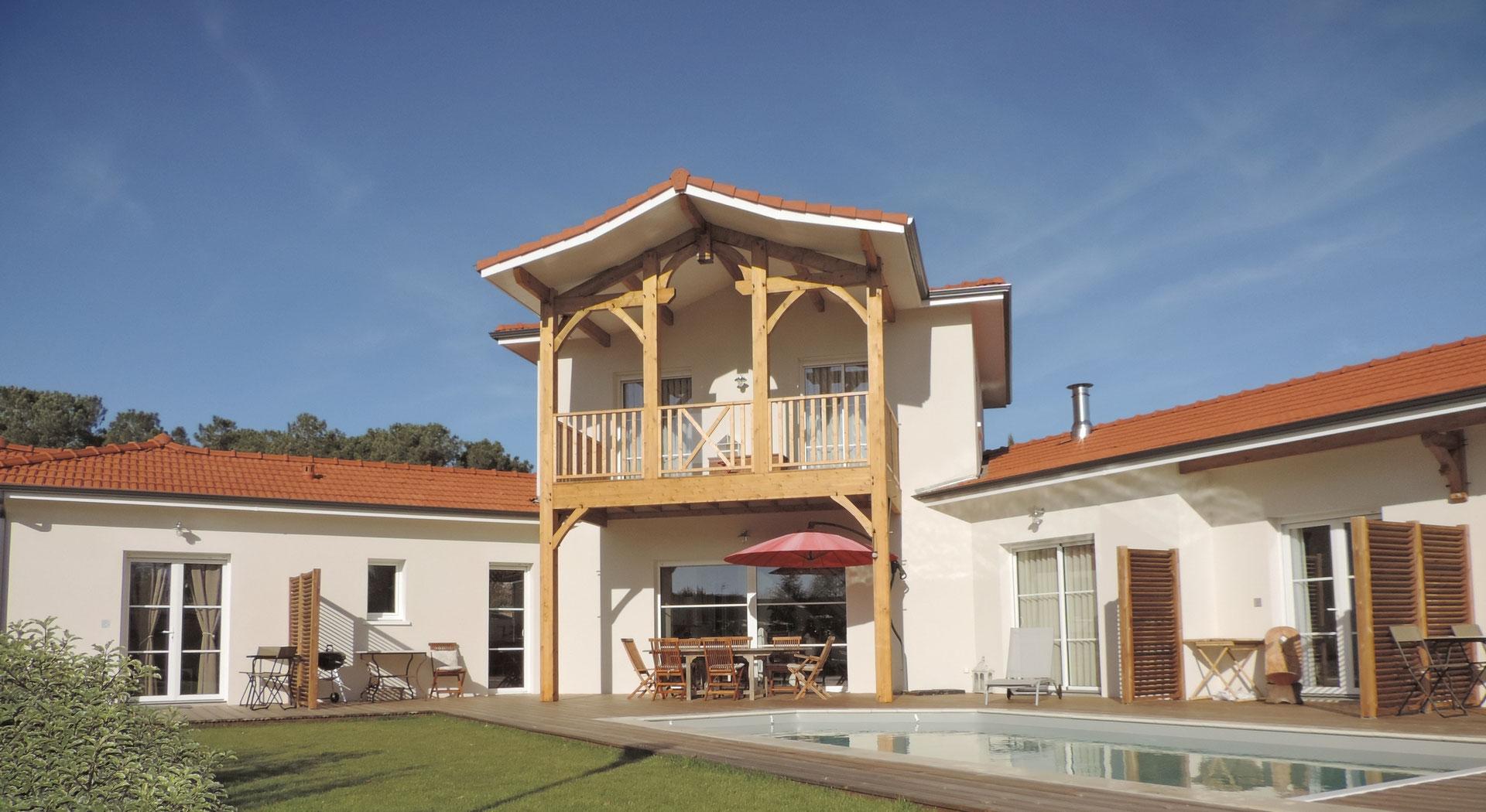 The House Chambres d h´tes la Lisi¨re du Betey