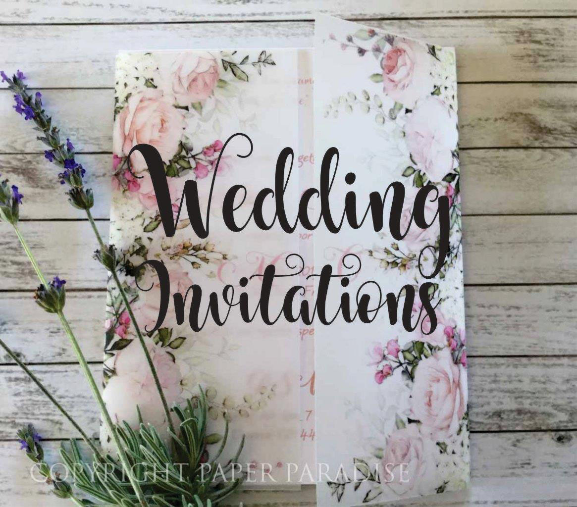 Fine Stationery Wedding Invitations: Paper Paradise, Home Of Fine Papers And