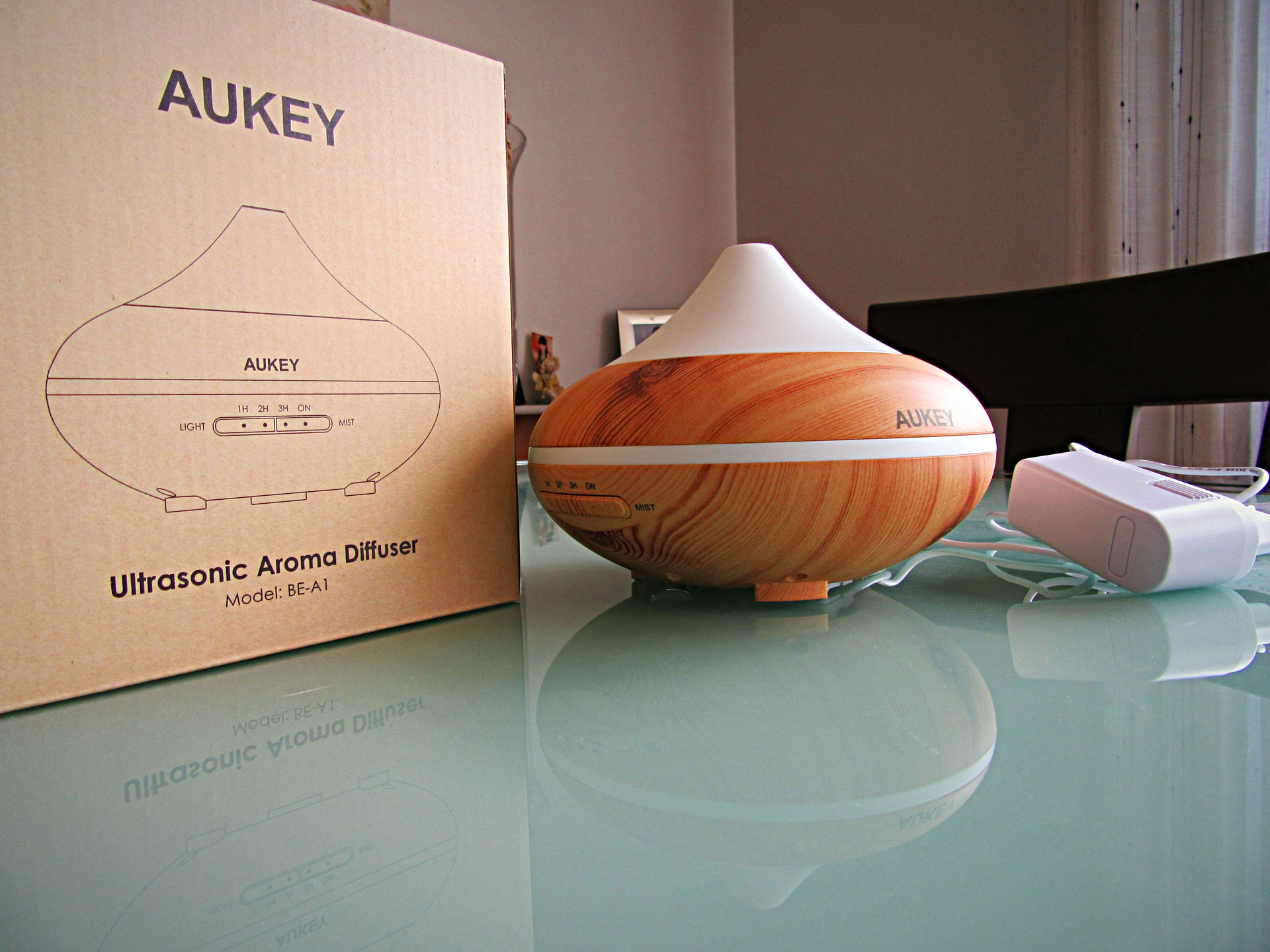 Aukey difusor de aroma android excellence - Humidificar habitacion ...