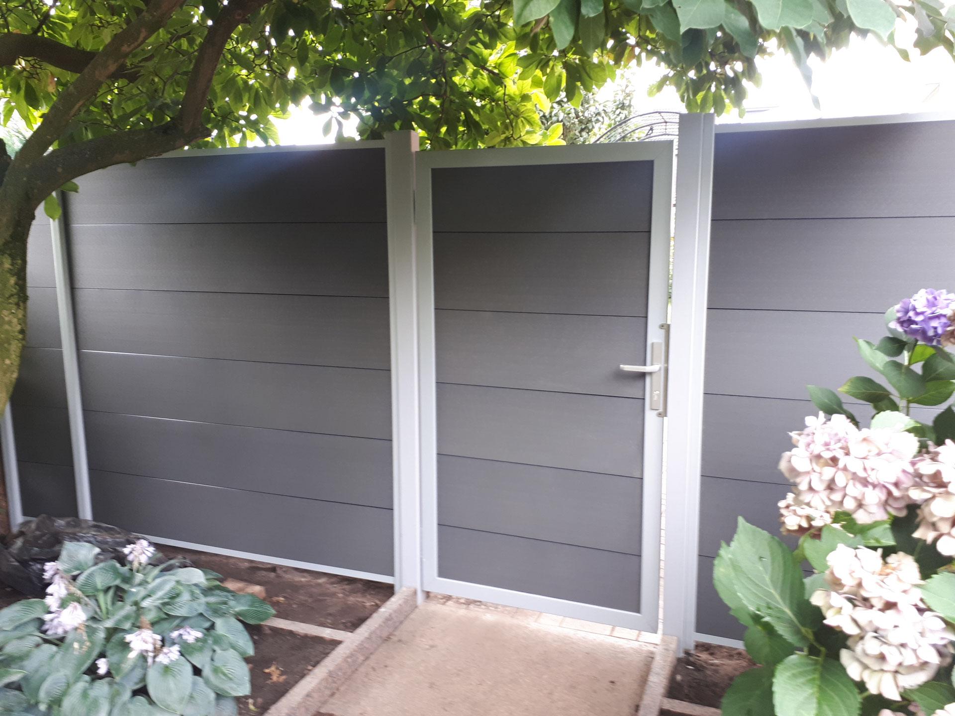 Sichtschutz Aus Holz Oder Wpc In Hannover Gartenpflege