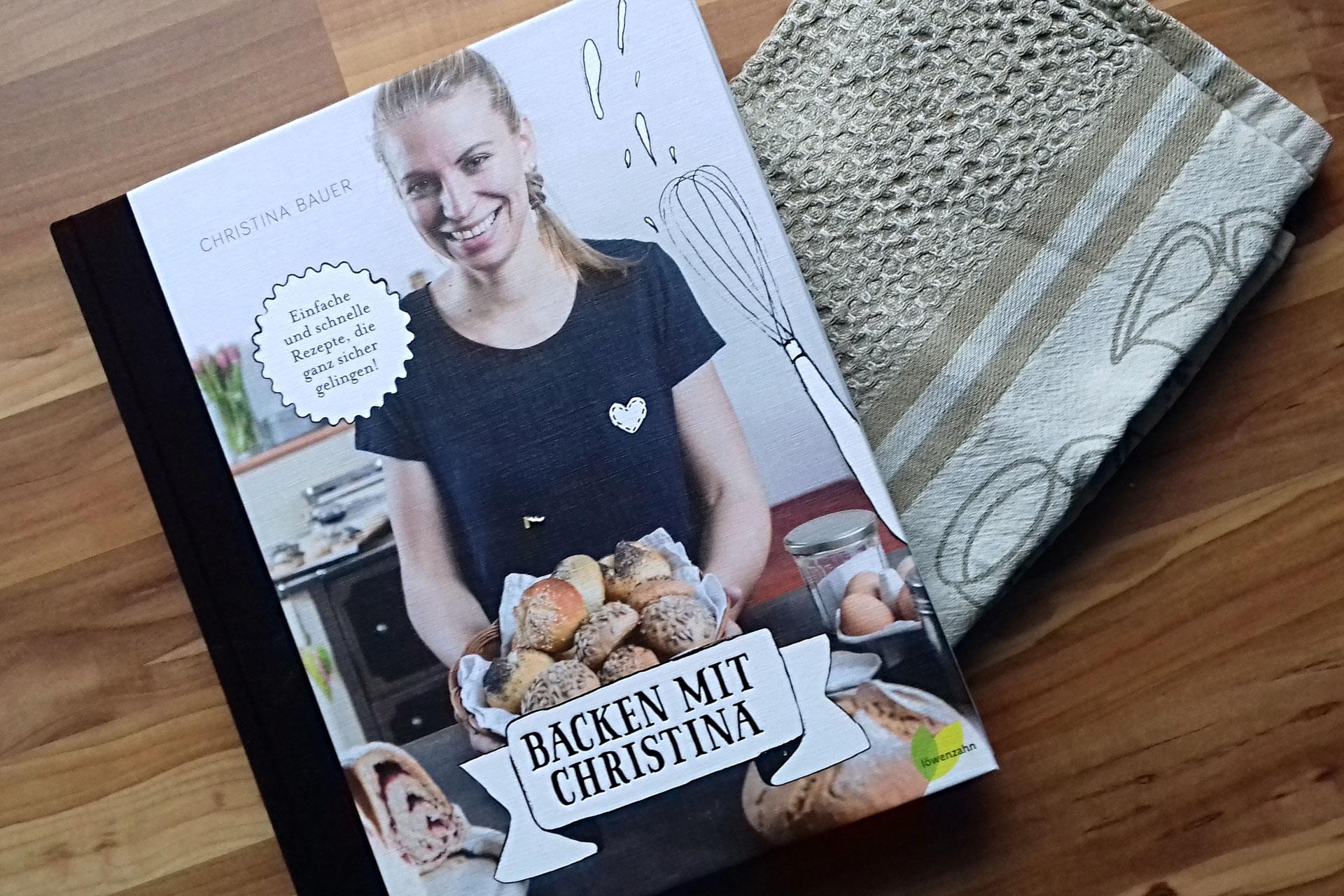 Gewinnspiel und haferflockenbrot backen mit christina for Kochbuch backen