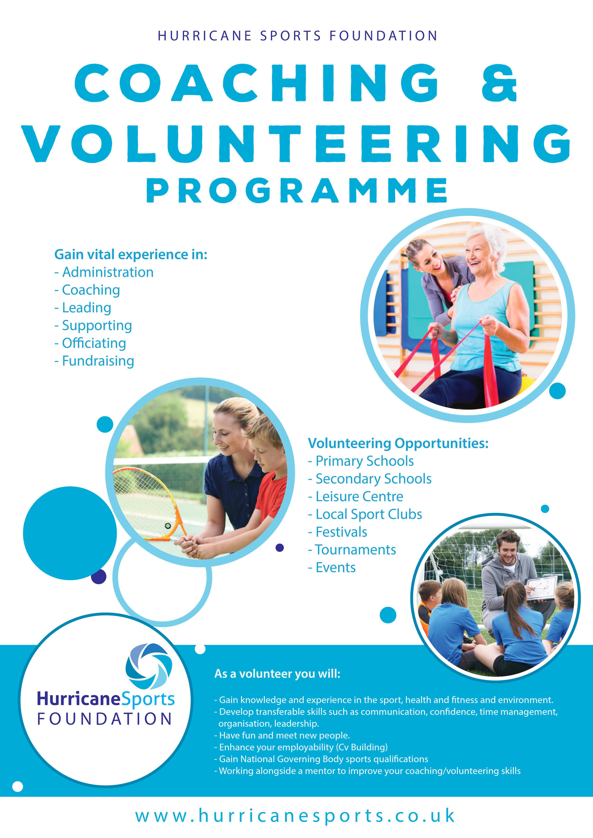 coaching and volunteering Ultimately this responsibility comes down to the coach or volunteer all coaches  and volunteers should have valid and renewed safeguarding qualifications.