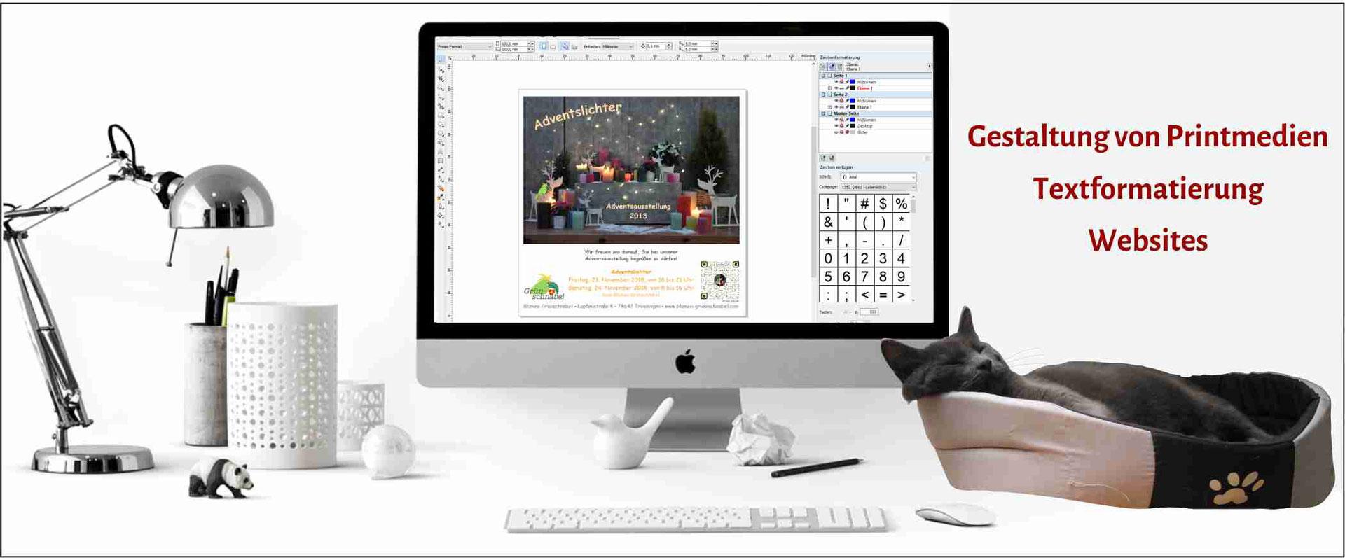 Flyer Und Visitenkarten Erstellen Lassen Textlabyrinth