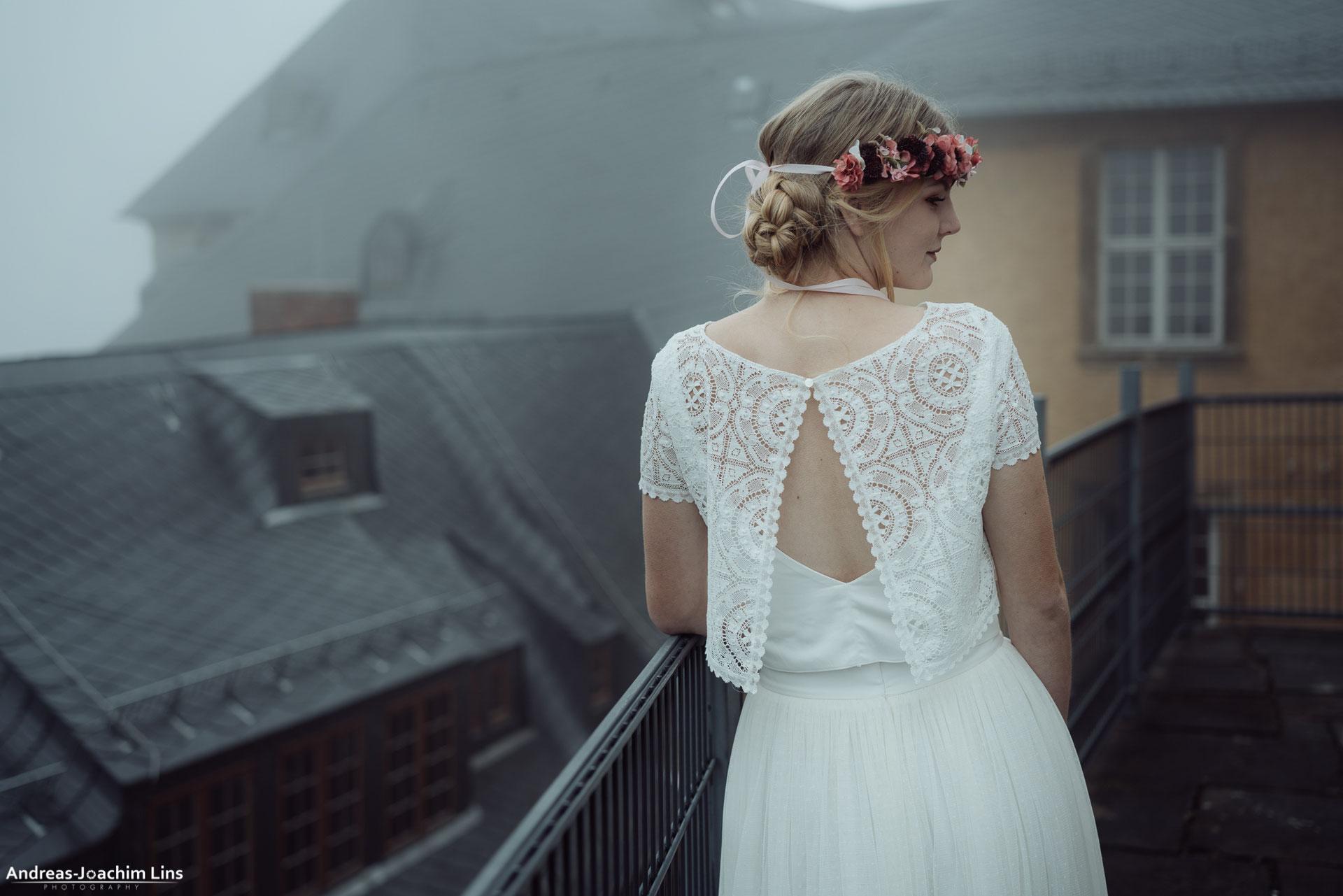zweiteiliges Brautkleid NORI - elementar I moderne Brautkleider