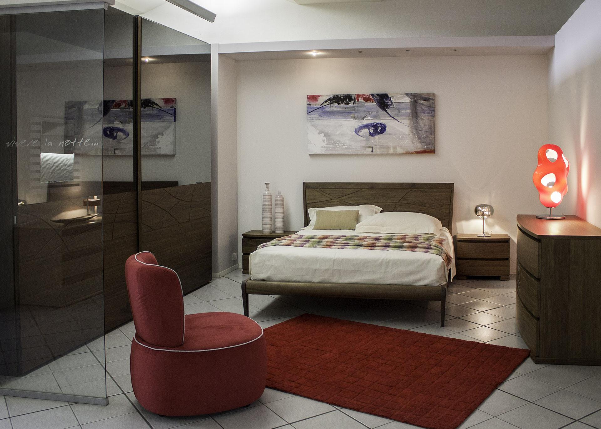 Camera Da Letto In Prospettiva Centrale diesel & scavolini - interior design