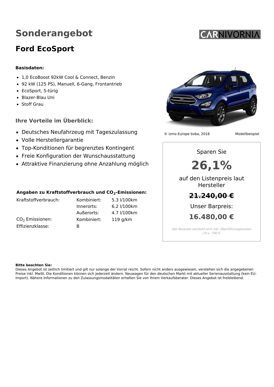 Ford Eco Sport - CARNIVORNIA