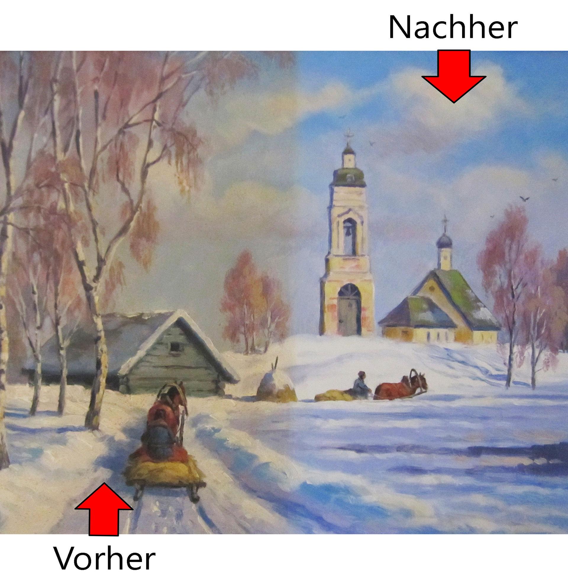 Beliebt Restauration - Kunstgalerie Graf Internationale Gemälde und Rahmen WP02