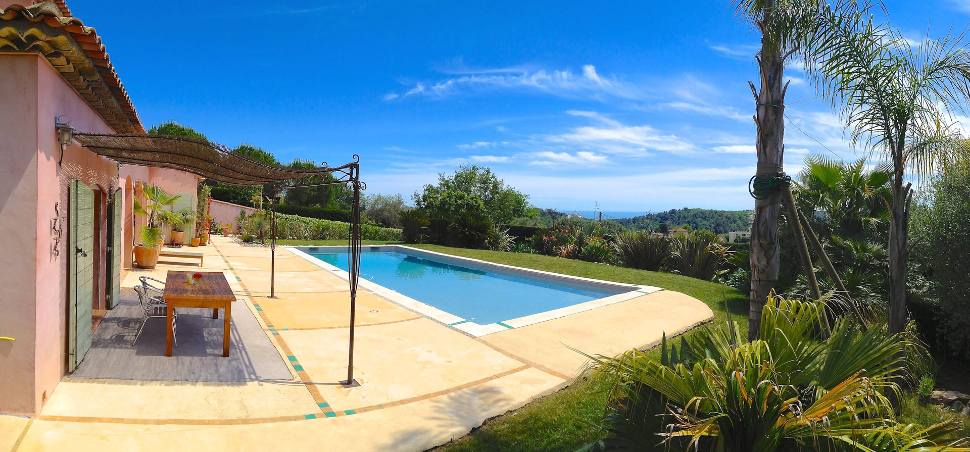 Location villa maison vacances avec piscine priv e vence - Location vacances avec piscine privee ...