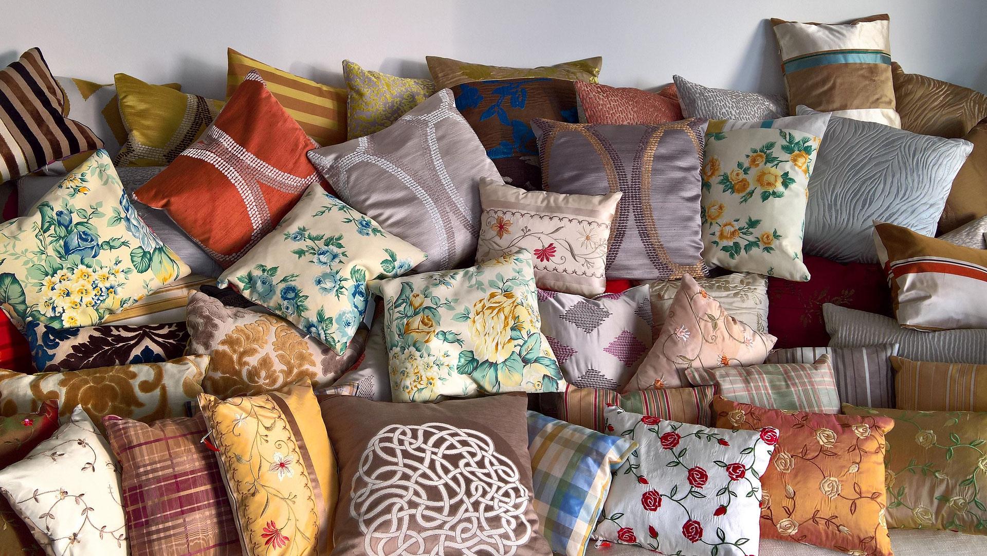 feine handgefertigte kissen dusbaers webseite. Black Bedroom Furniture Sets. Home Design Ideas