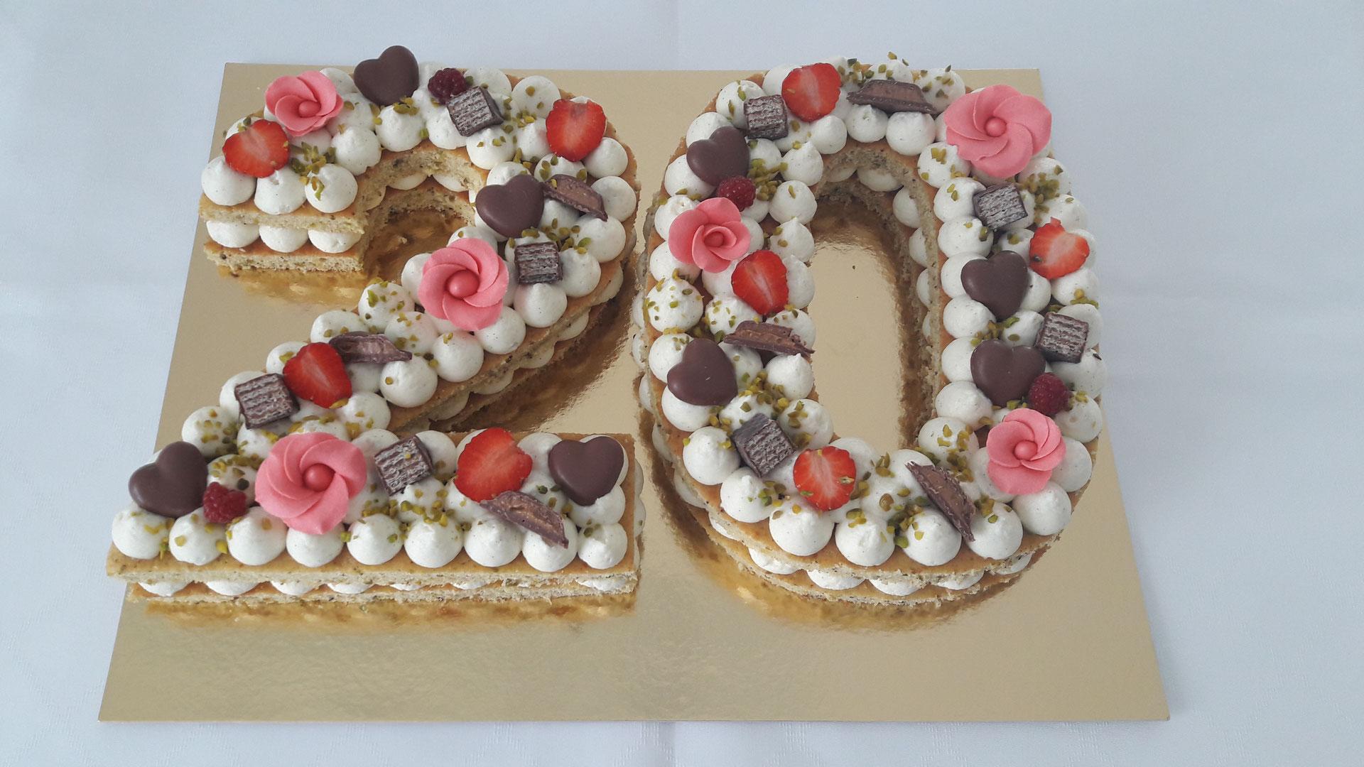 Lettercake Zum Muttertag Rezept Und Anleitung 11