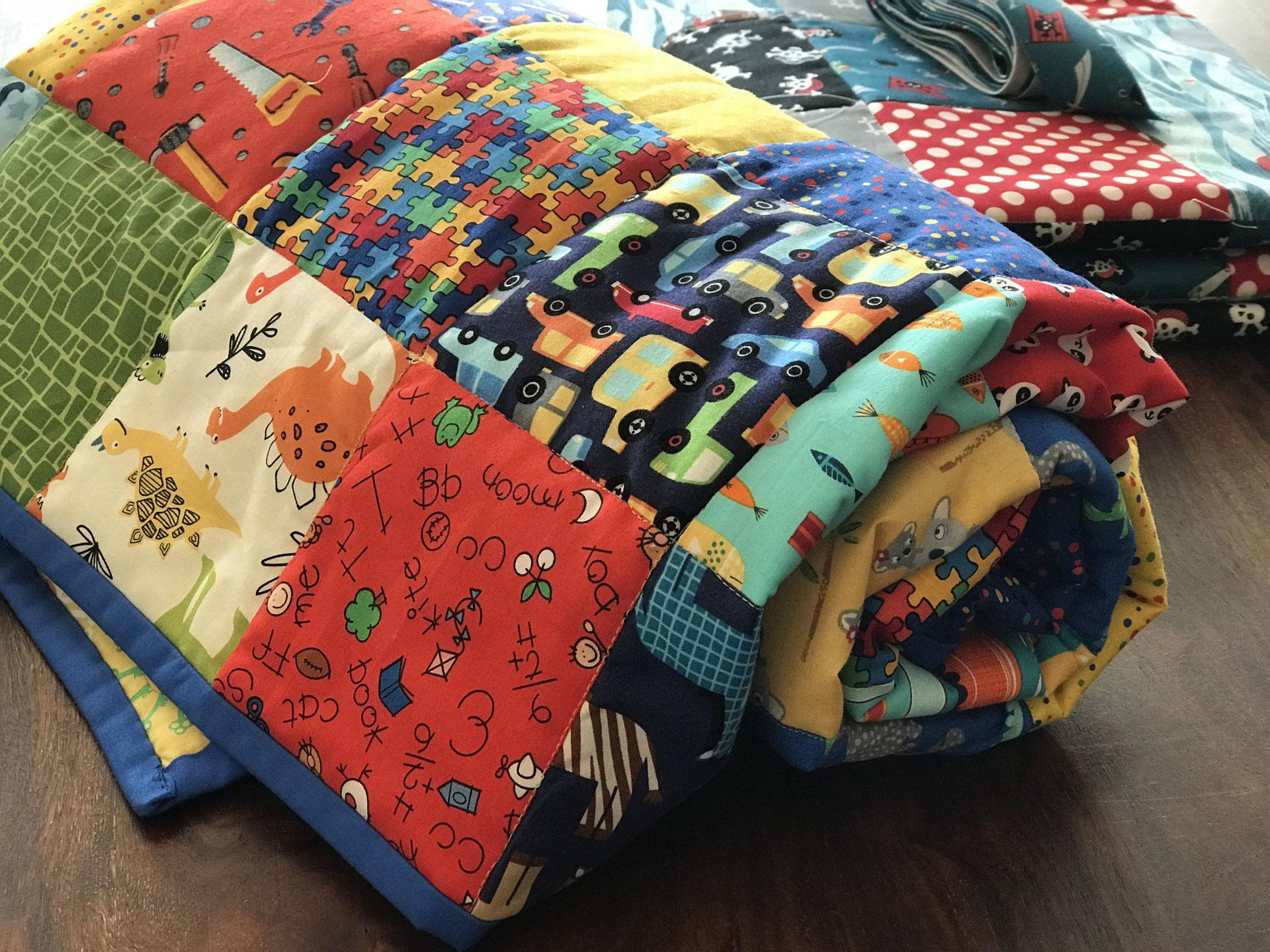 Gestalten patchworkdecke selbst Decke Mit