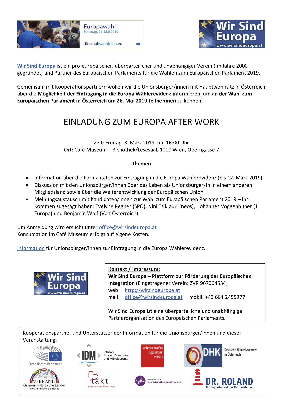 wahlen europäisches parlament