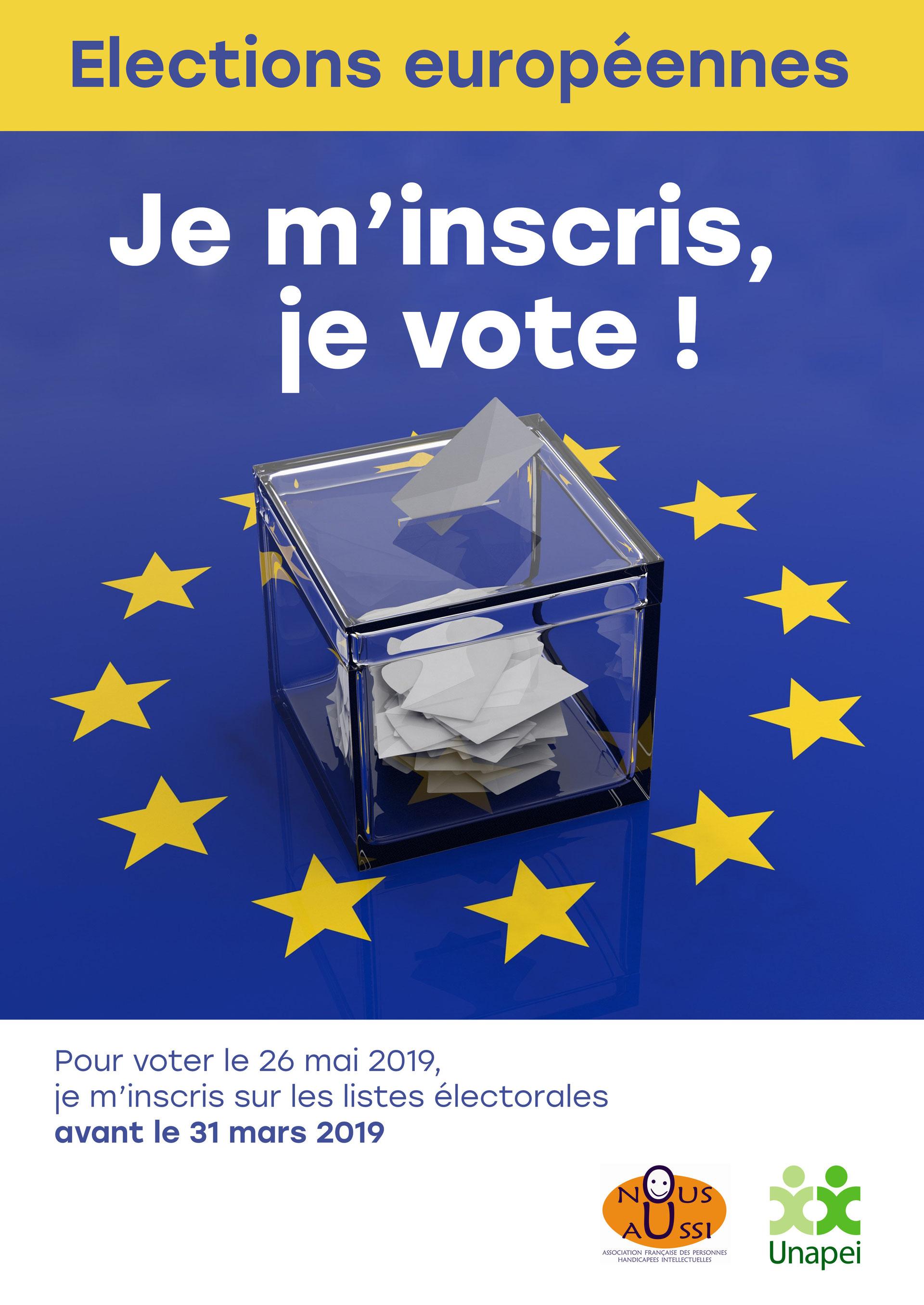 elections europ u00e9ennes  inscriptions avant le 31 mars 2019