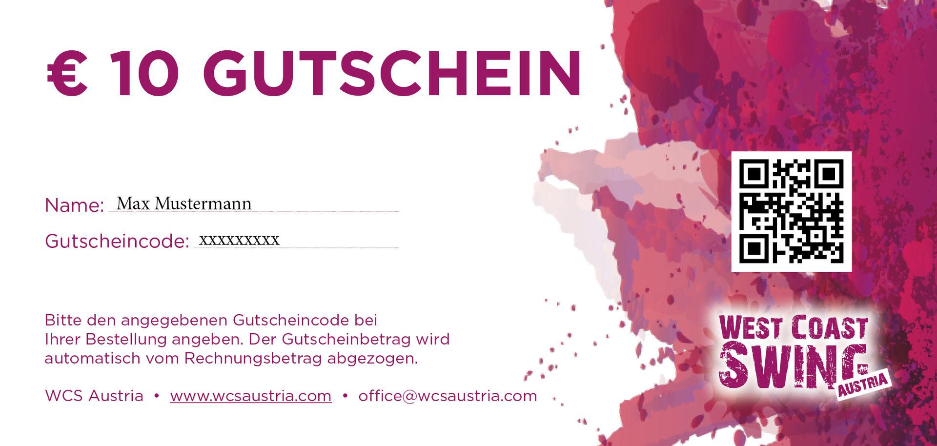 Gutscheine - wcsaustrias Webseite!