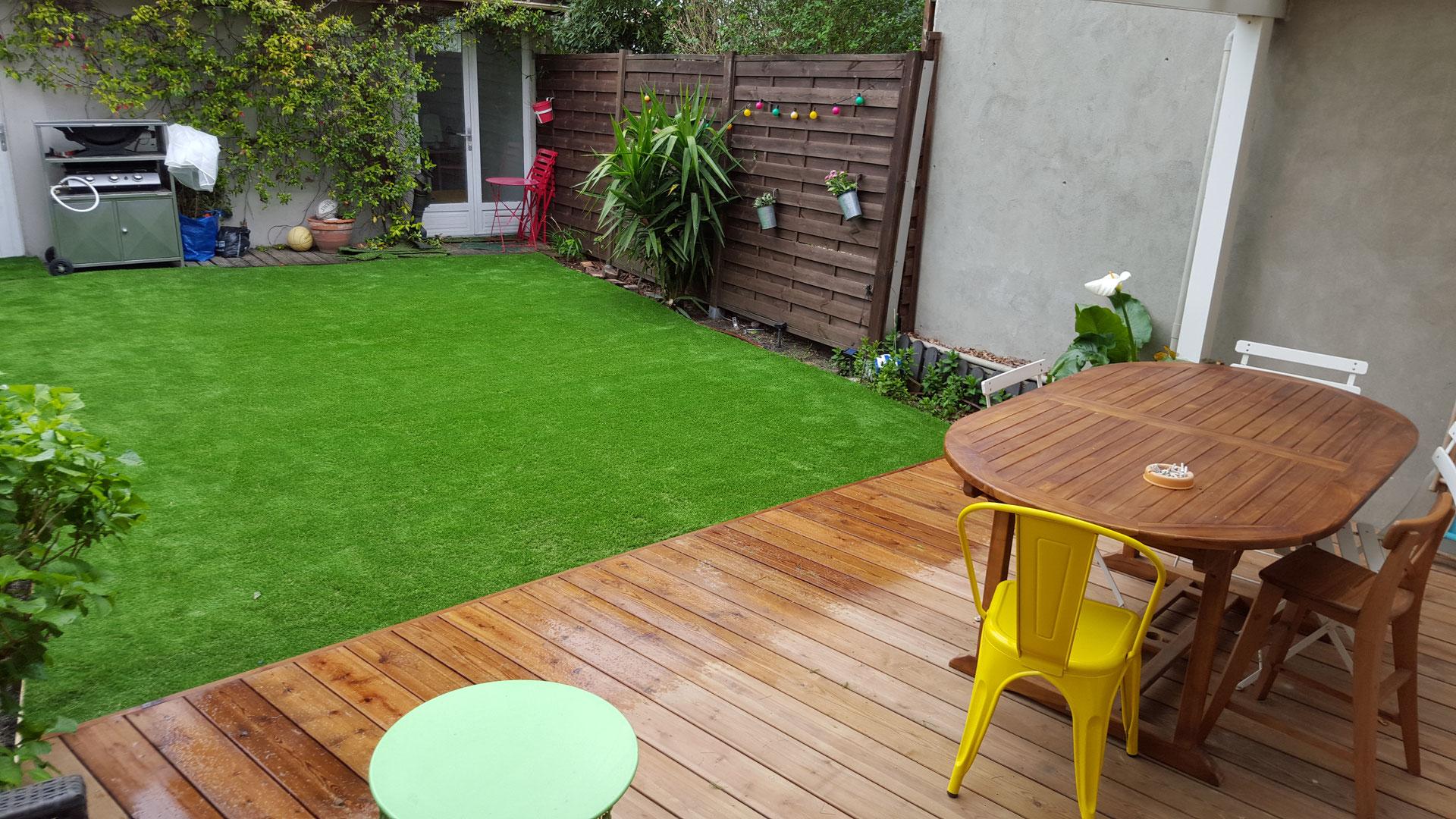 Mobilier De Jardin Merignac garden staging - paysagiste jardin de ville balcon terrasse