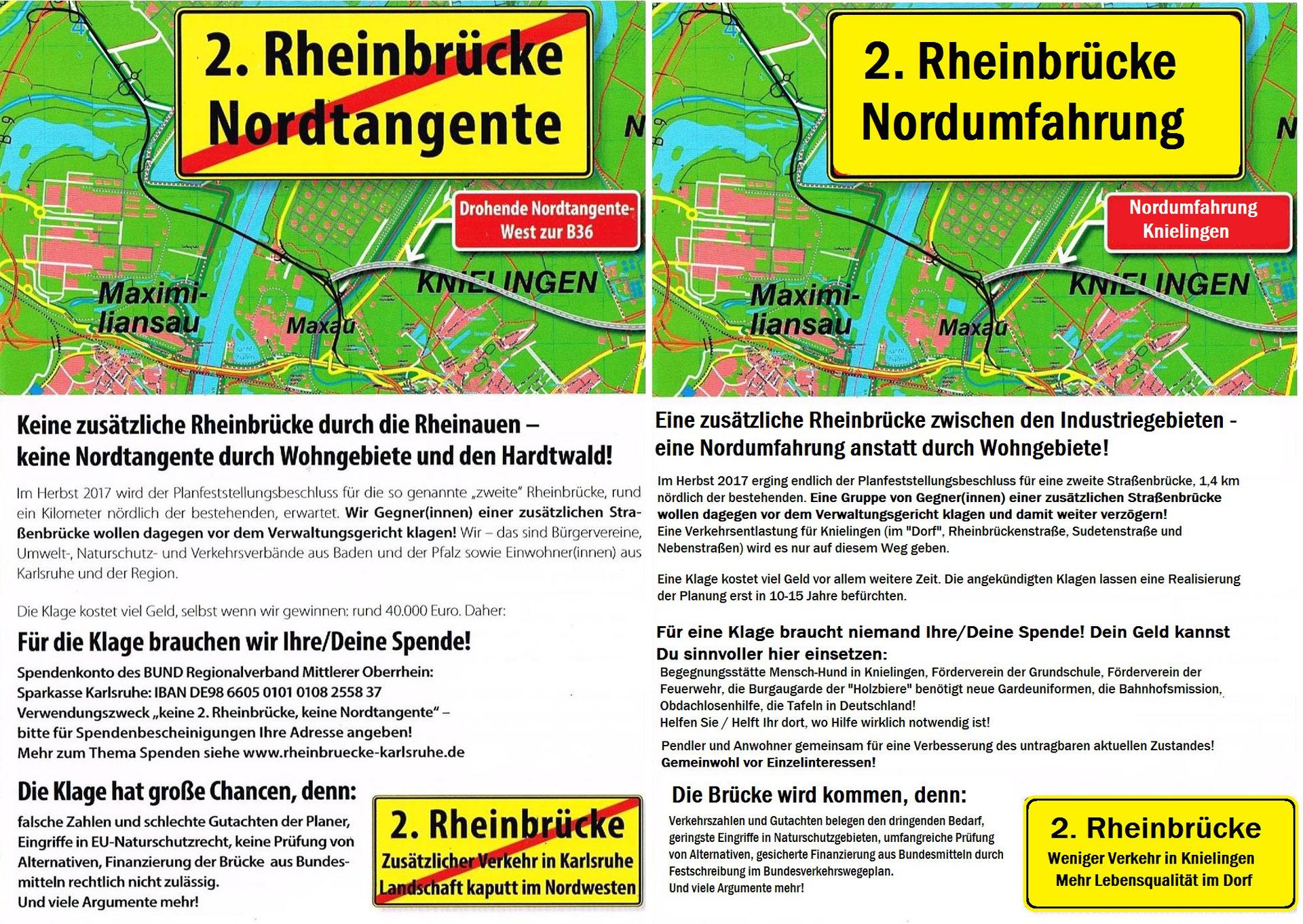 2. Rheinbrücke - Wir brauchen die 2. Rheinbrücke Wörth-Karlsruhe!