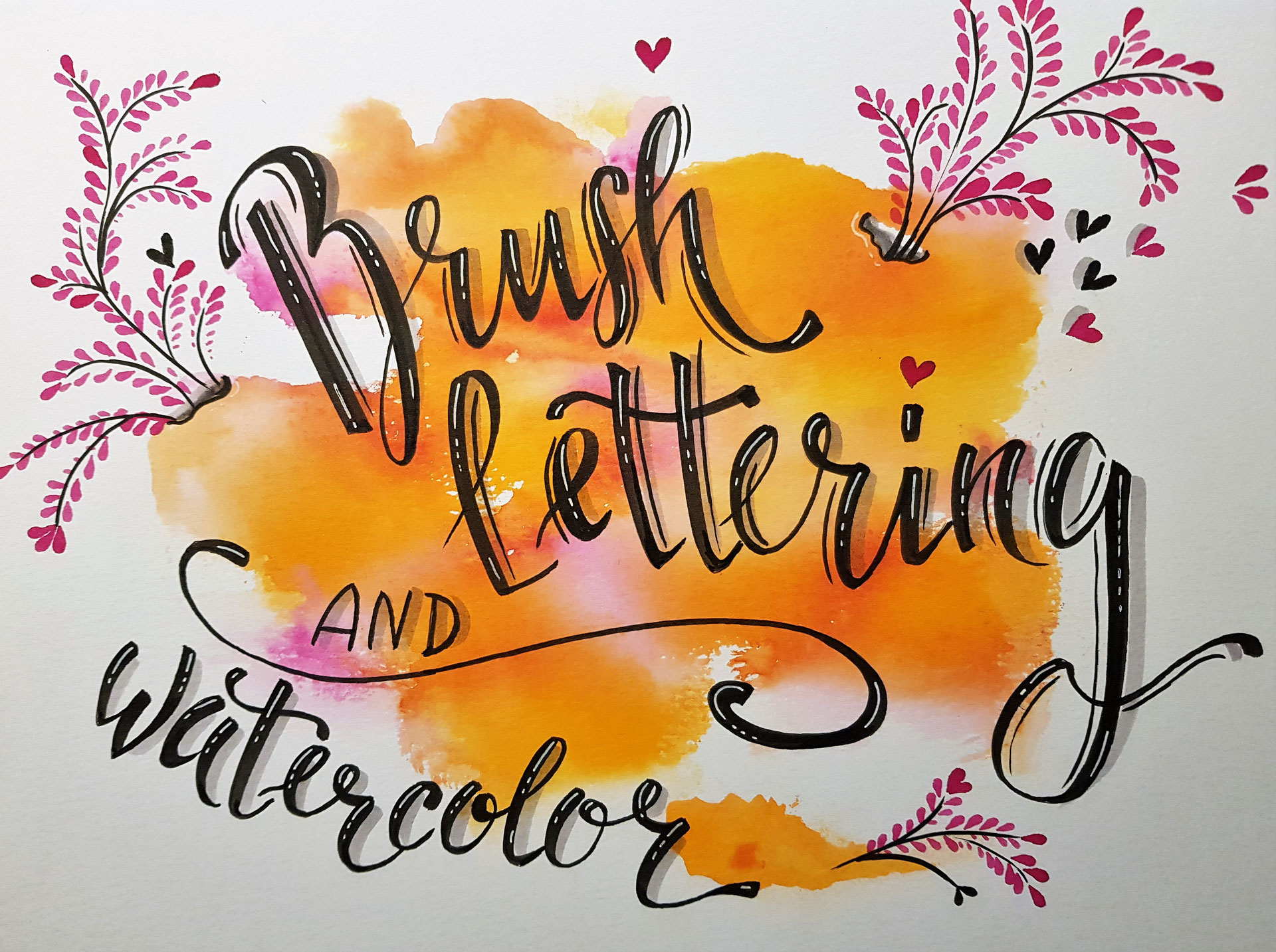 Hand Lettering / Brush Lettering Workshops in Frankfurt   DIE ...