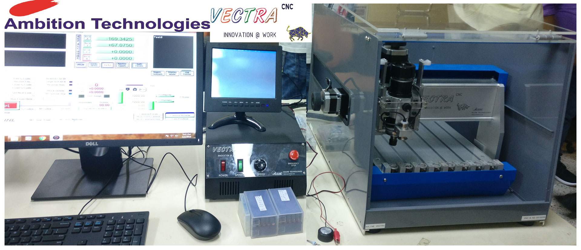 Vectra Cnc Pcb Prototyping Machine Ambitiontech Tutorial On Printed Circuit Board Design