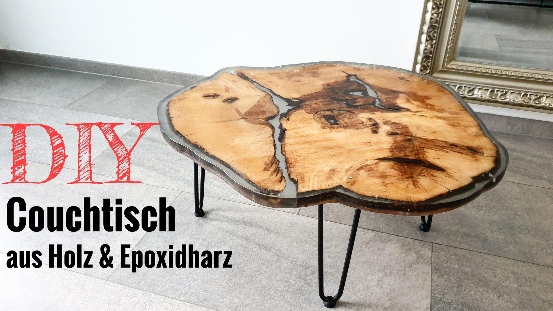 Baumscheibe Tisch Epoxidharz