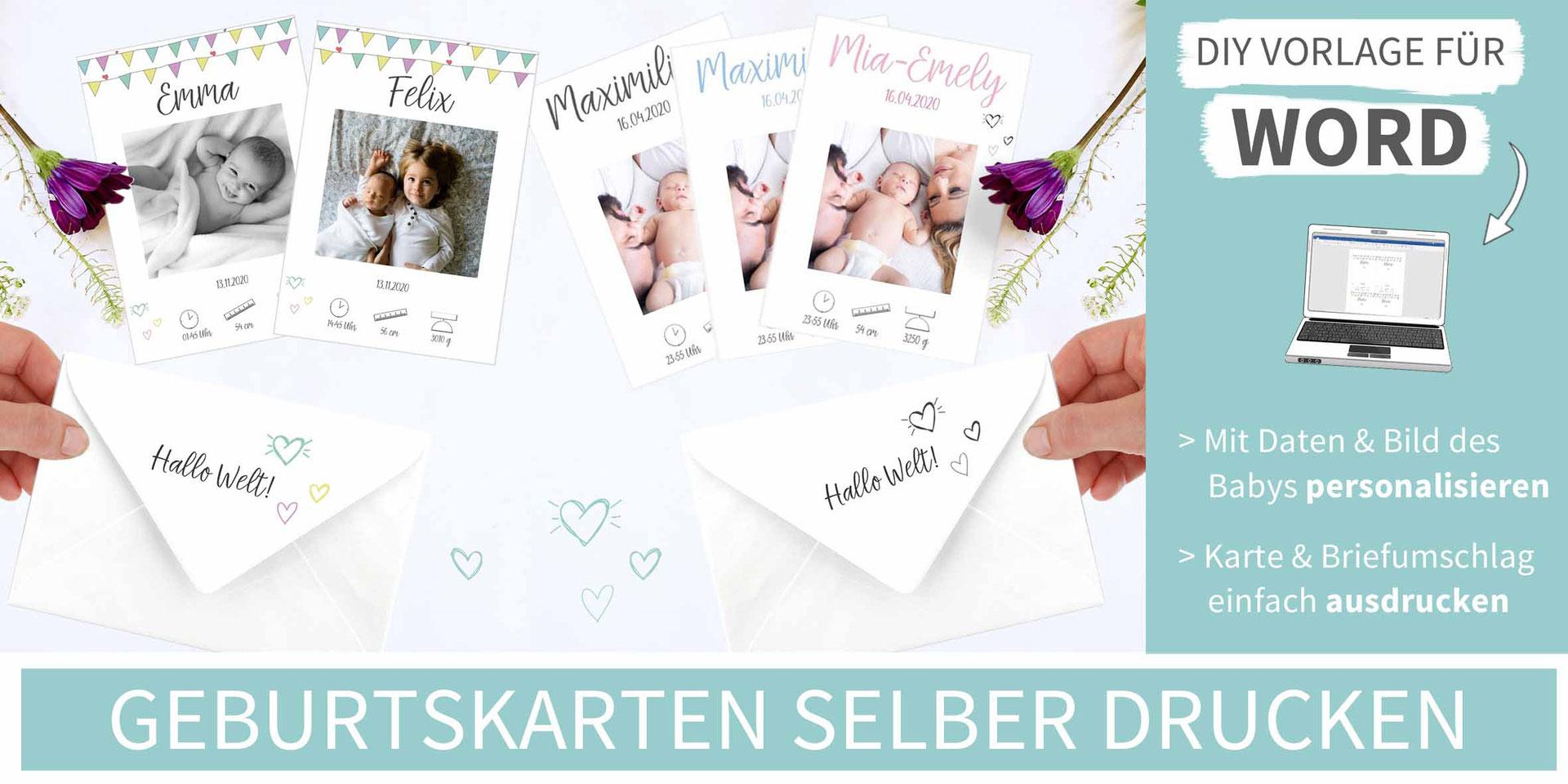 Gluckwunsche Zur Geburt 20 Kostenlose Babykarten