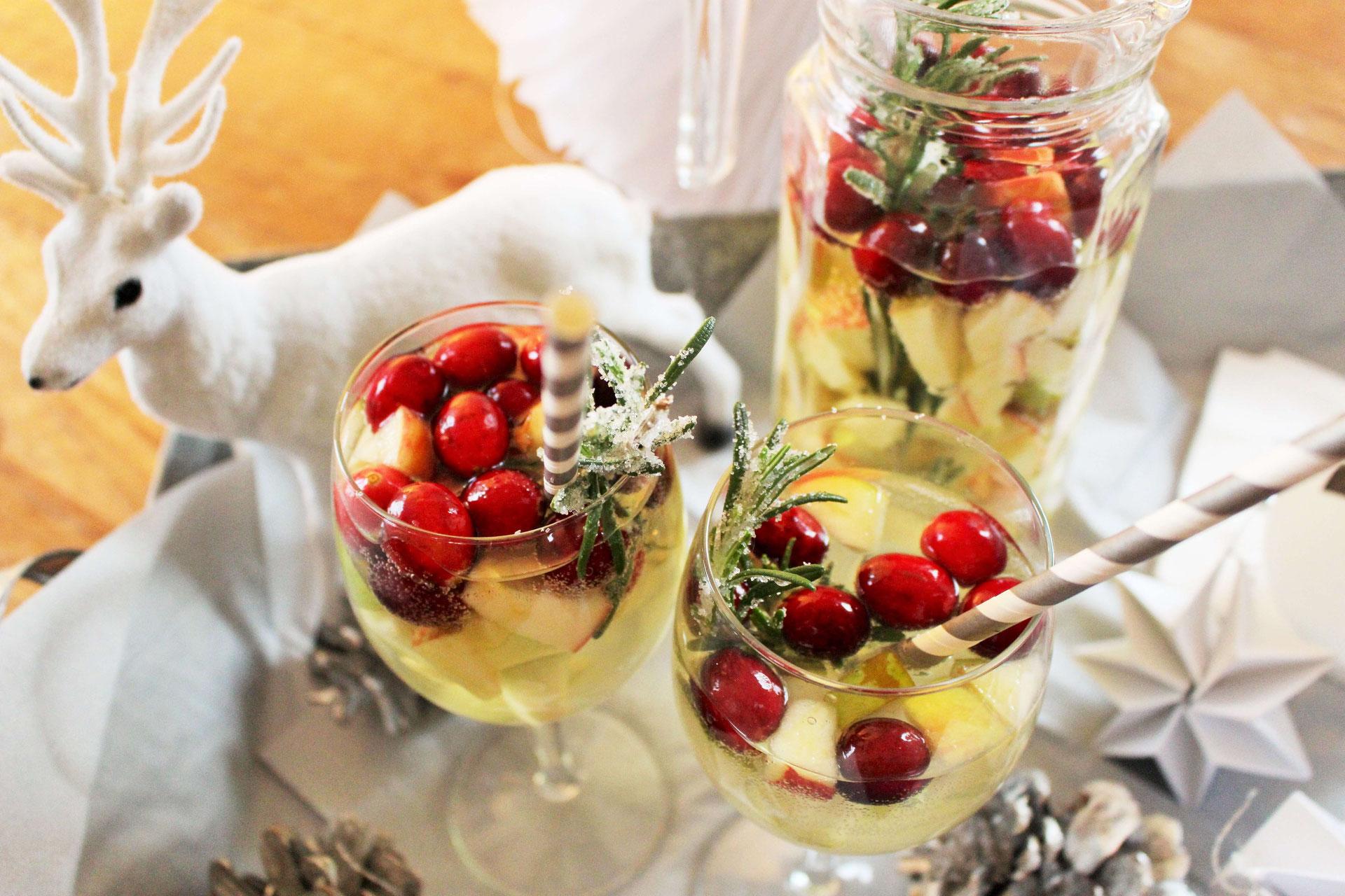 Sangria Rezept mal anders: Winter Sangria - Partystories Blog