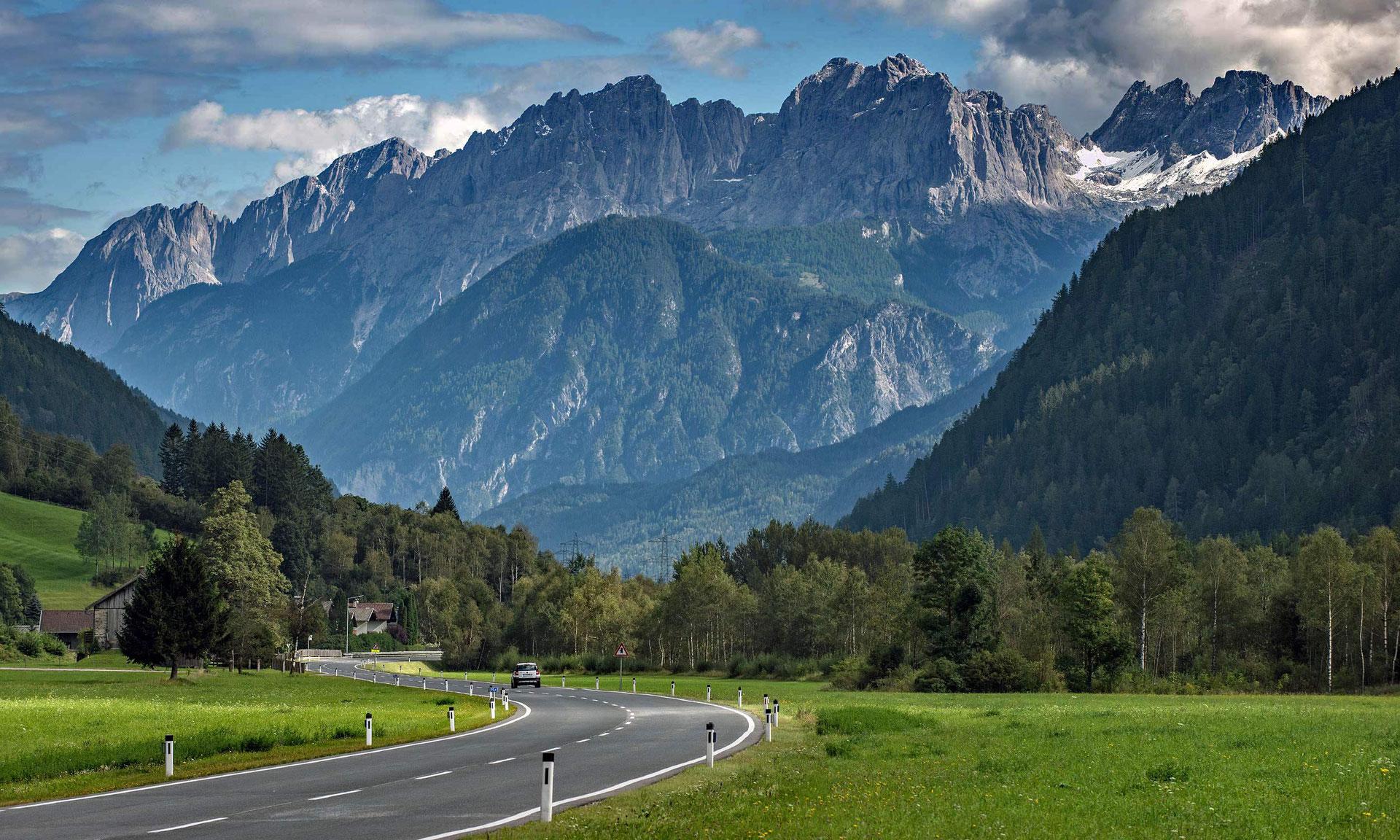 Durchfahrt österreich Nach Italien