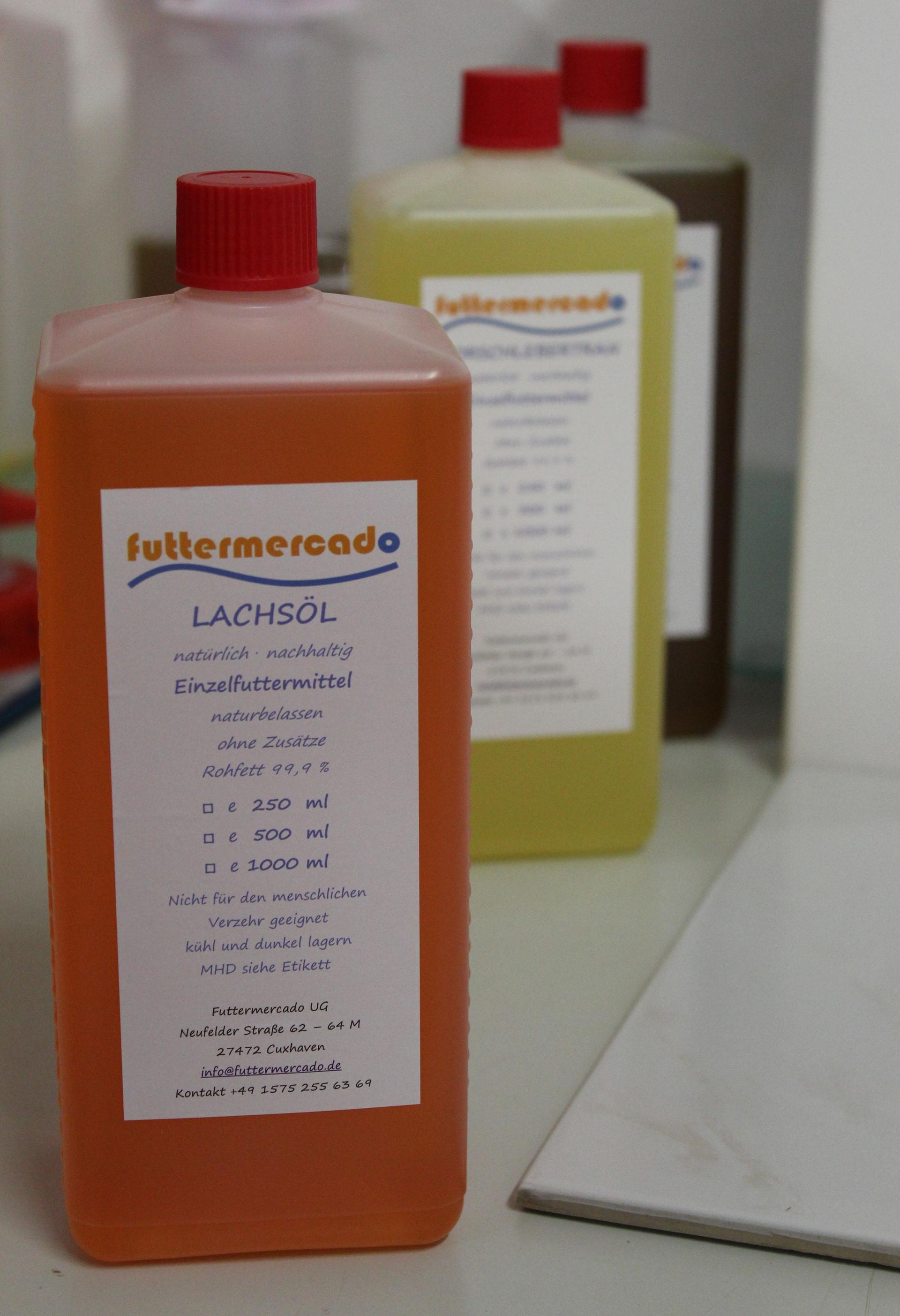 futtermercado - Lachsöl für Hunde und Katzen, der Lachsölexperte für ...
