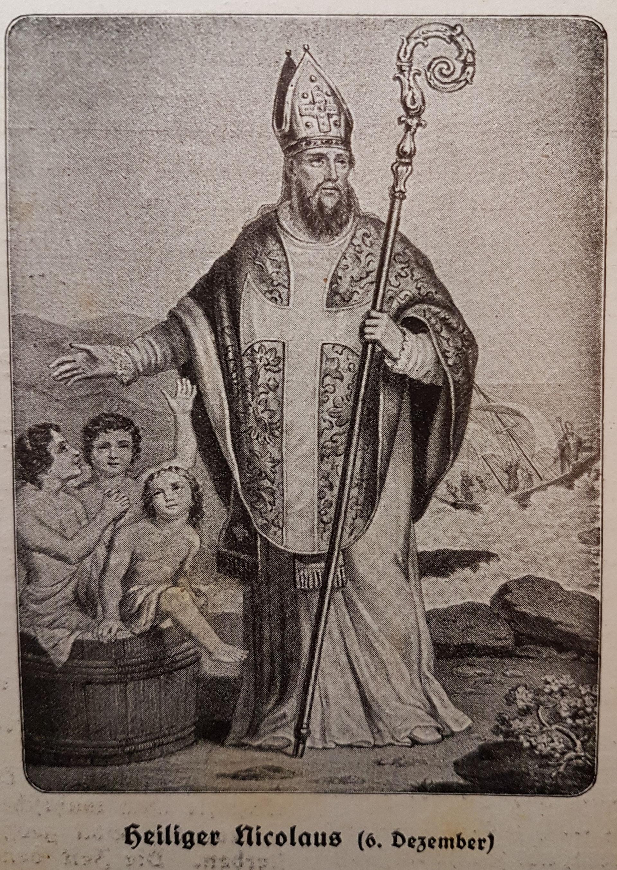 Hl Nikolaus Von Myra